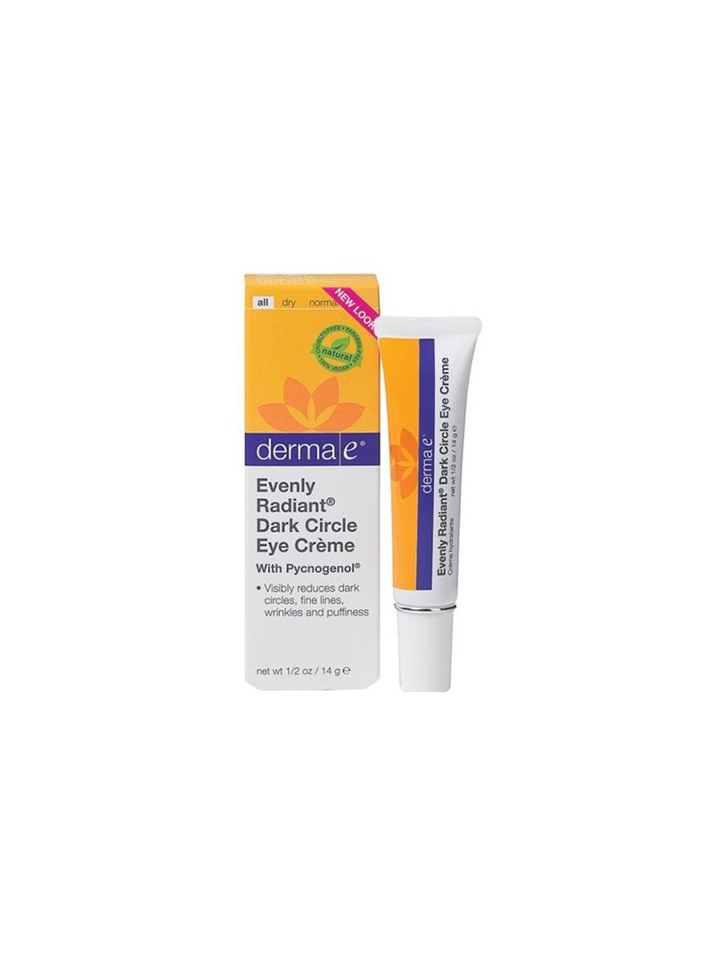 Derma E Evenly Radiant Dark Circle Eye Creme 15ml - Göz Çevresi Bakım Kremi