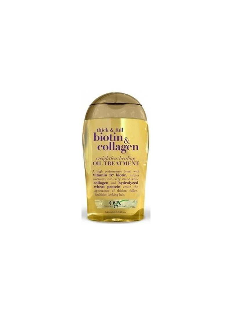 Organix Biotin & Collagen Oil Treatment 100 ml - Onarıcı Yağ