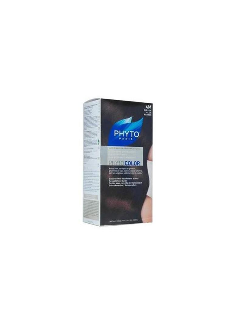 Phyto Color Saç Boyası 4M Açık Kestane Kahve (Clatain Clair Marron)