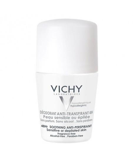 Vichy Sensitive Terleme Karşıtı Deodorant Roll-On 50ml 48 Saat Etkinlik