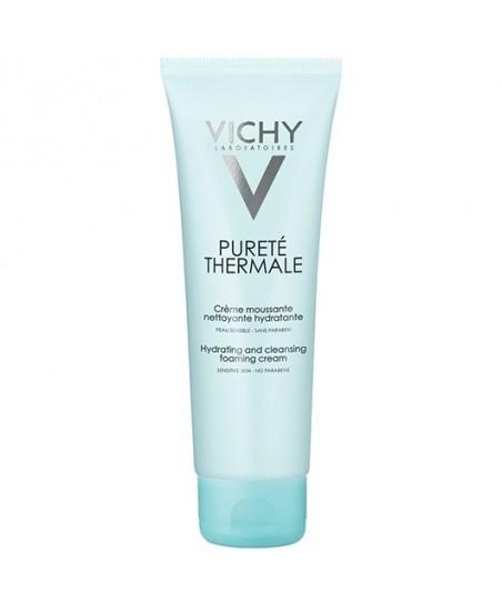 Vichy Purete Thermal Creme Moussante Su ile Yıkanan Temizleyici Krem 125ml