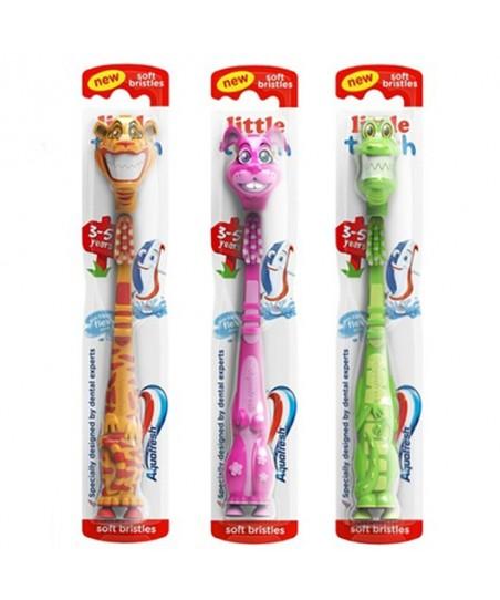 Aquafresh Kids Little Teet Diş Fırçası 3-5 Yaş Timsah