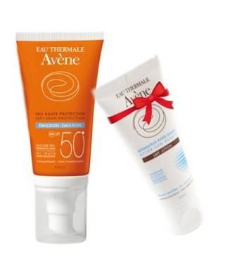Avene Emulsion Spf50 50ml + Avene After Sun Lotion 50ml HEDİYE