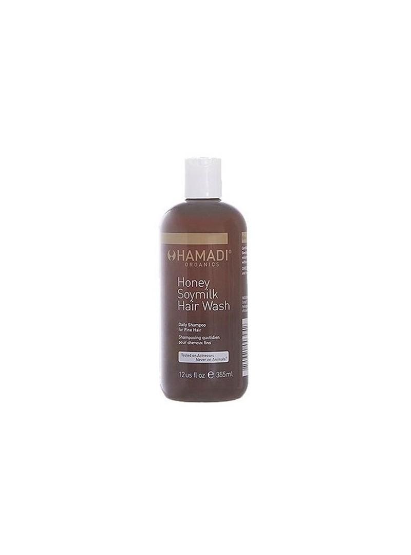 Hamadi Honey Soymilk Hair Wash 355 ml  Bal Soya Sütü Günlük Saç Şampuanı (İnce Saçlar İçin)