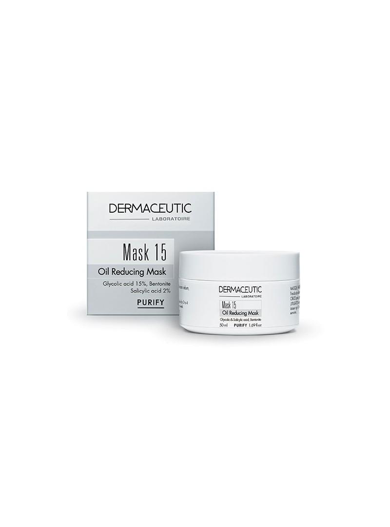 Dermaceutic Mask 15 50 ml - Yağlı ve Akneli Cilt Kil Maskesi