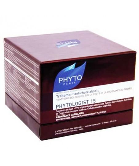 Phyto Phytologist 15 Saç Dökülmesine Karşı Etkili Serum 12 x 3.5ml