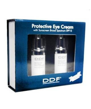DDF Protective Eye Cream SPF 15 - 15 ml 2li Kofre