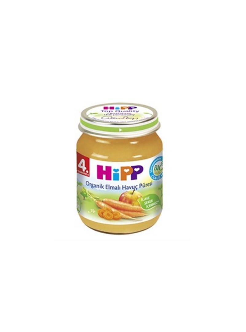Hipp Organik Elmalı Havuç Püresi 125 gr