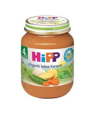 Hipp  Organik Sebze Karışımı 125 gr
