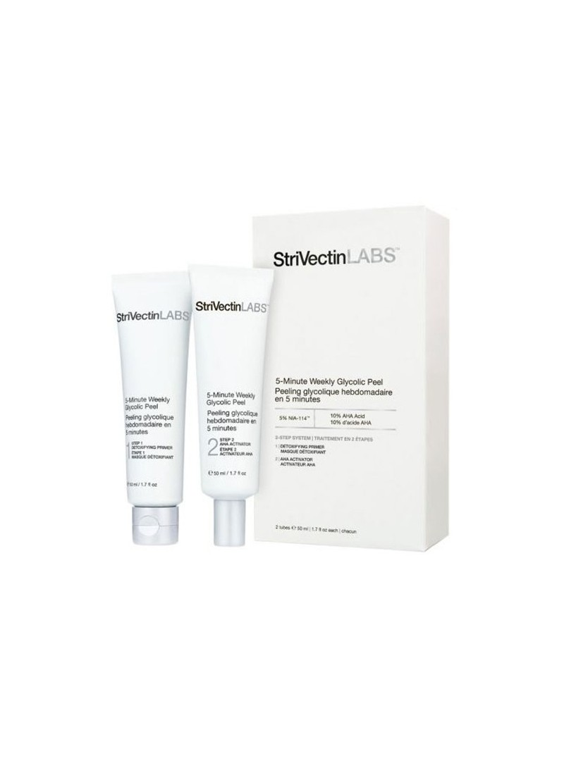Strivectin LABS 5 Minute Weekly Glycolic Peel 2 tüp x 50ml
