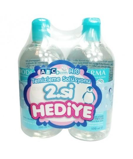 Bioderma Abcderm H2O + Temizleme Solüsyonu