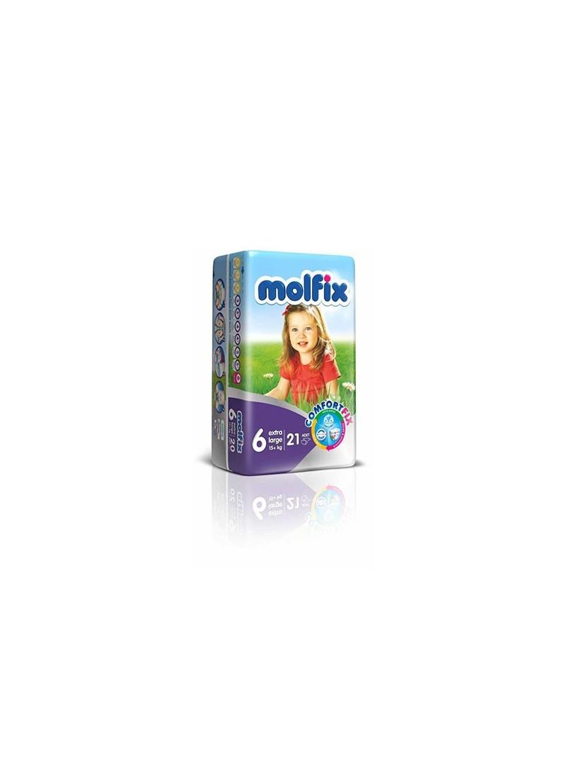 Molfix İkiz Paket Extra Large 6 Numara Bebek Bezi 24 Adet
