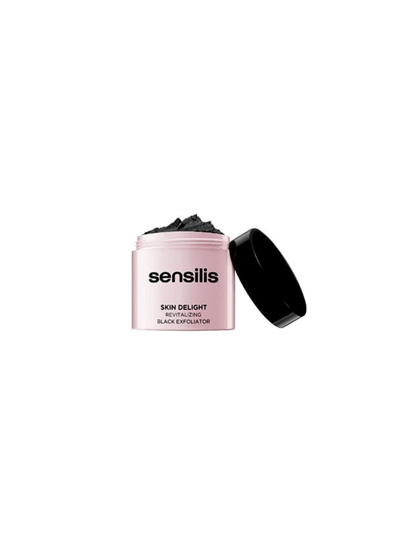 Sensilis Skin Delight Revitalizing Black Exfoliator 75ml