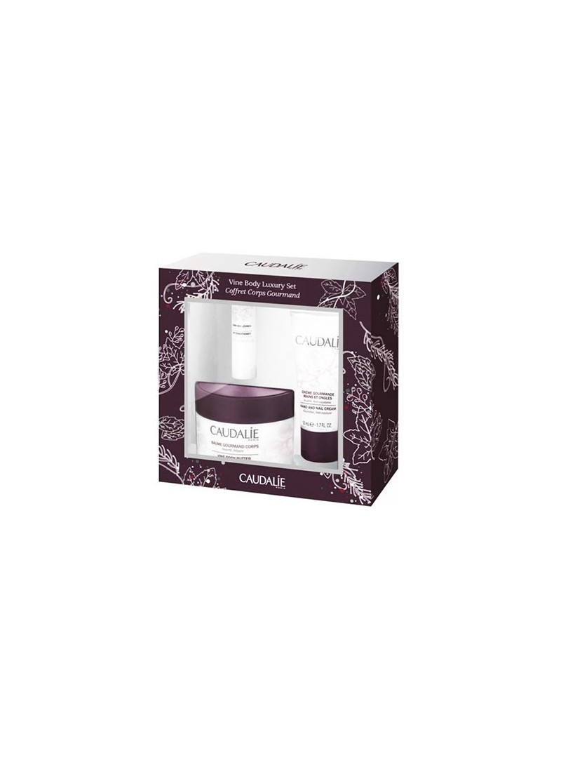 Caudalie Corps Gourmand Vine Body Luxury SET
