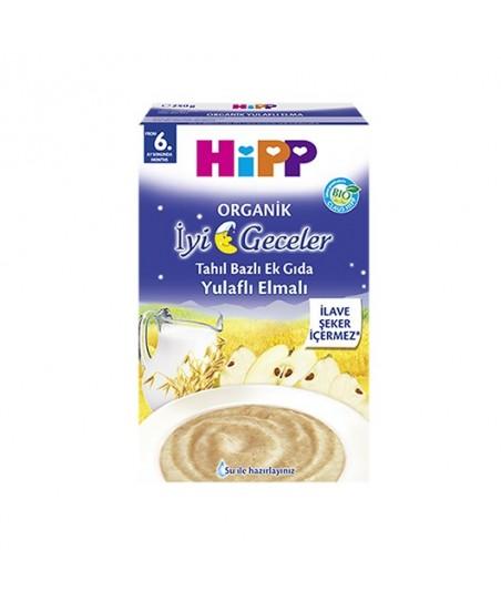 Organik İyi Geceler Yulaflı Elmalı Tahıl Bazlı Ek Gıda 250gr