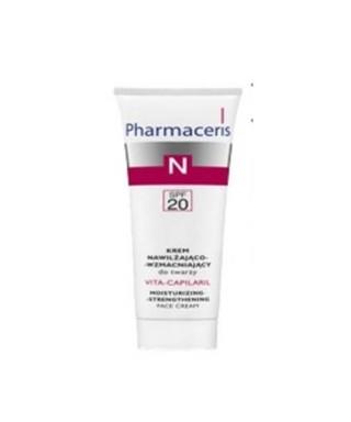 OUTLET - Pharmaceris Vita Capilaril Nemlendirici ve Güçlendirici Yüz Kremi 50 ml