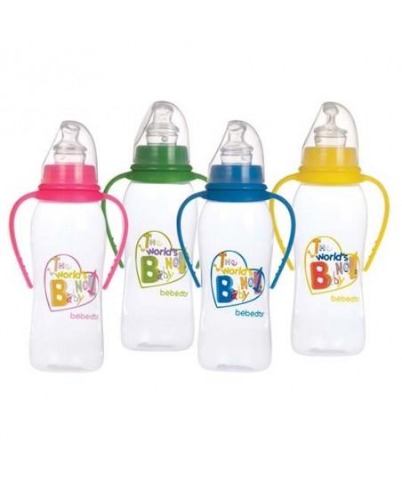 Bebedor Desenli PP Biberon 250 ml. Orta Akış