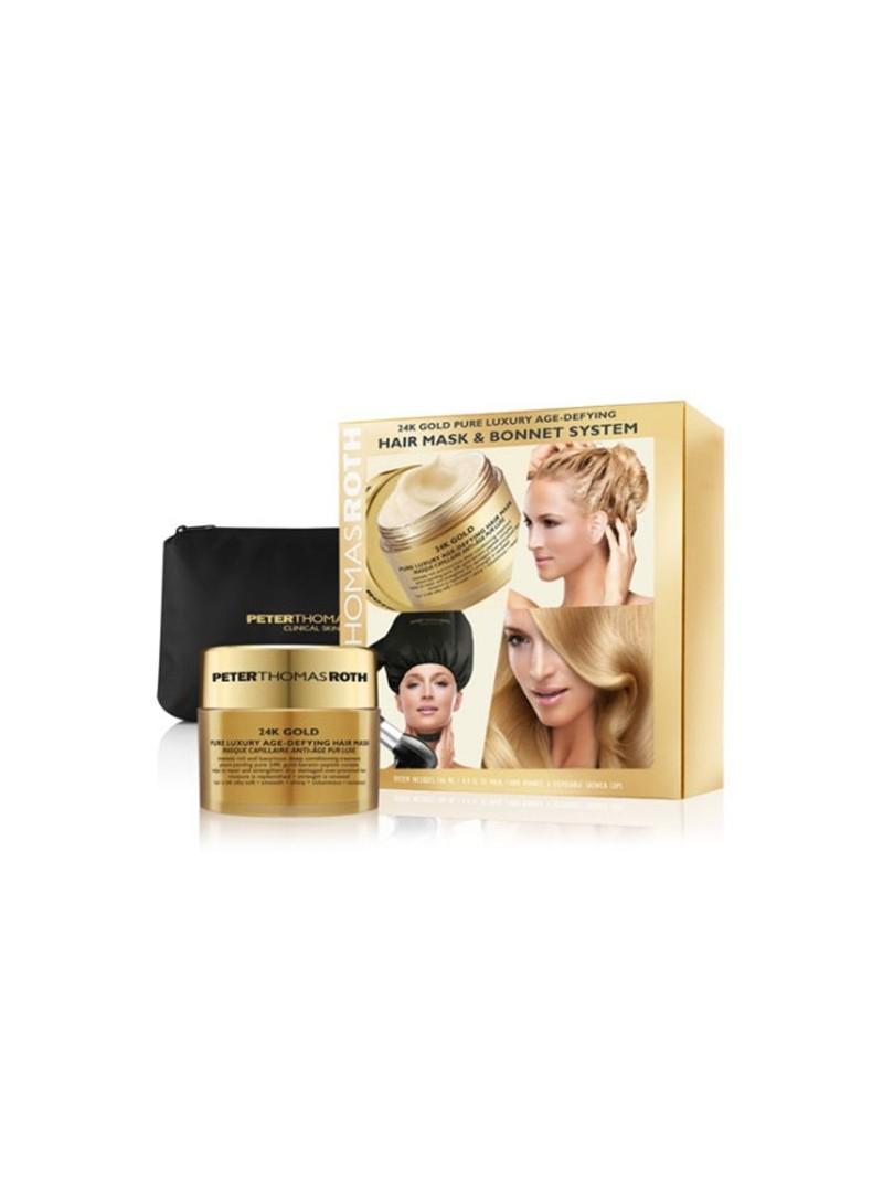 Peter Thomas Roth 24K Gold Hair Mask&Bonnet System 146ml