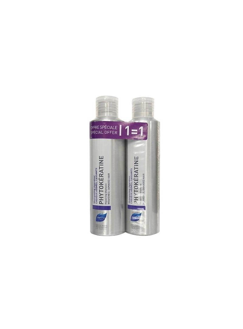 Phyto Phytokeratine Repairing Shampoo 2x200ml