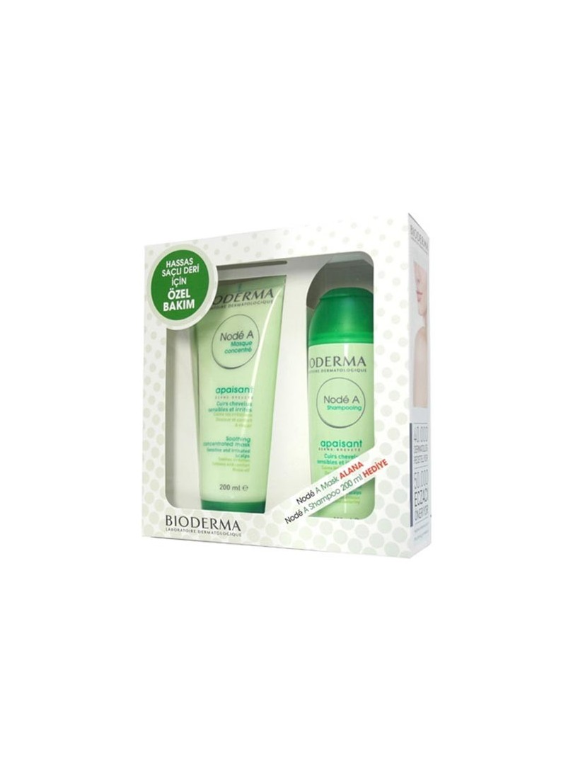 Bioderma Node A Maske 200 ml + Node A Şampuan 200ml Hediyeli