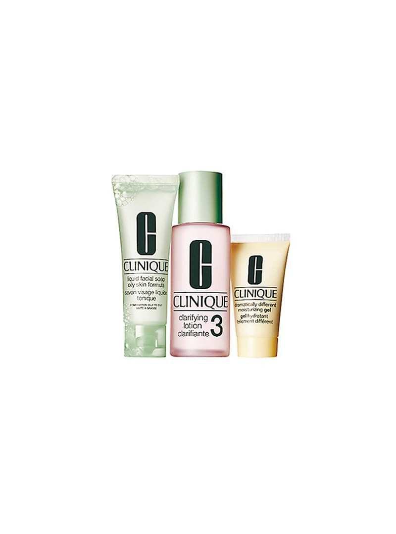 Clinique 3 Adımlı Cilt Bakım Sistemi Type 3-Combination Oily SET