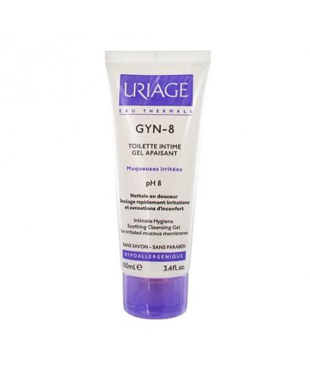 Uriage Gyn-8 Soothing Cleansing Gel 100ml - İntim Temizlik Jeli