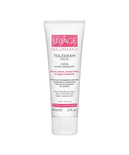 Uriage Tolederm Riche Nutri-Soothing Cream 50ml - Bakım Kremi