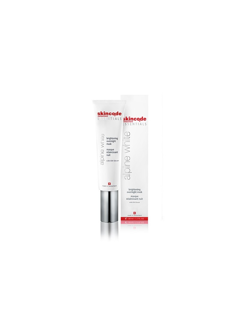 Skincode Alpine White Brightening Overnight Mask 50ml - Gece Maskesi