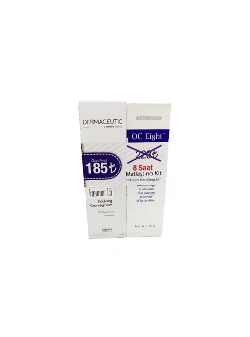 Dermaceutic Foamer 15 +OC 8 Eight 45gr - 8 Saat Matlaştırıcı Kit