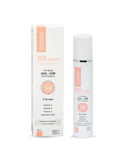 Dermoskin BB Krem SPF50 50 ml