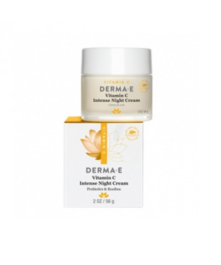 Derma E Vitamin C Intense Night Cream 56g - Gece Kremi