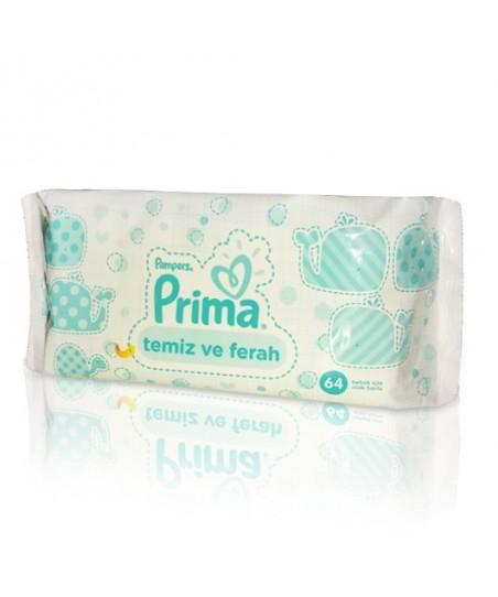 Prima Pampers Baby Fresh Islak Mendil 64'lü