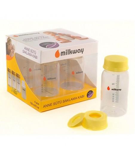 Milkway Süt Saklama Kabı 4'lü