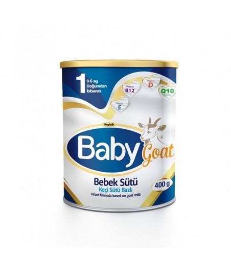 Baby Goat 1 Keçi Sütü Bazlı Bebek Sütü 400gr