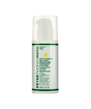 OUTLET - Peter Thomas Roth Max Sheer All Day Moisture Defense Lotion With Spf30 50ml