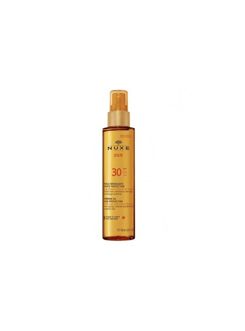 Nuxe Sun Bronzlaştırıcı Yüz ve Vücut Yağı (Spf 30) 150ml
