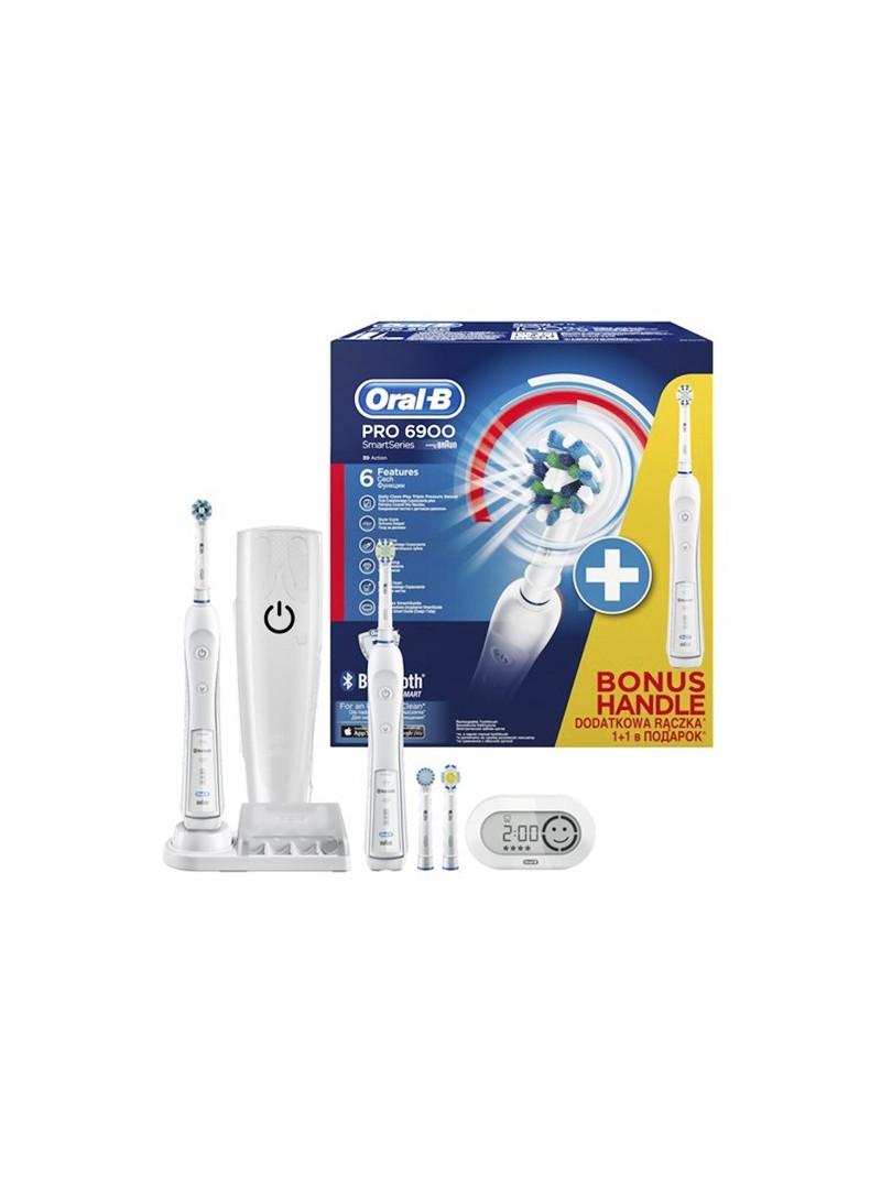 Oral-b Pro 6900 Şarj edilebilir Diş Fırçası 2li