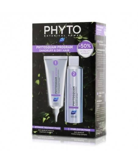 Phyto Phytosquam Anti Dandruff Shampoo 200 ml + Phyto Phytosquam Intense Shampoo 100ml