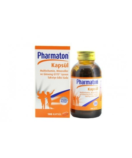 Pharmaton 40mg 100 Kapsül