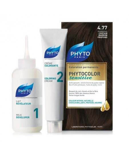 Phyto Phytocolor Sensitive Saç Boyası 4.77 Çikolata Kahve