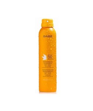 OUTLET - Babe Transparent Sunscreen Wet Skin Spf50 200ml.