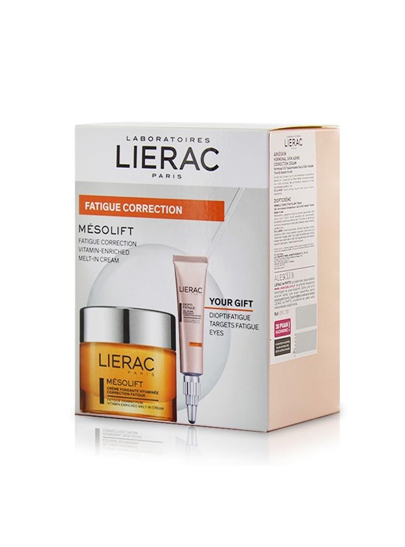 Lierac Mesolift Vitamin Enriched Fondant Cream 50ml + Lierac Dioptifatigue 10ml