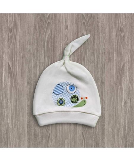 Aziz Bebe Ekru Bebek Şapkası