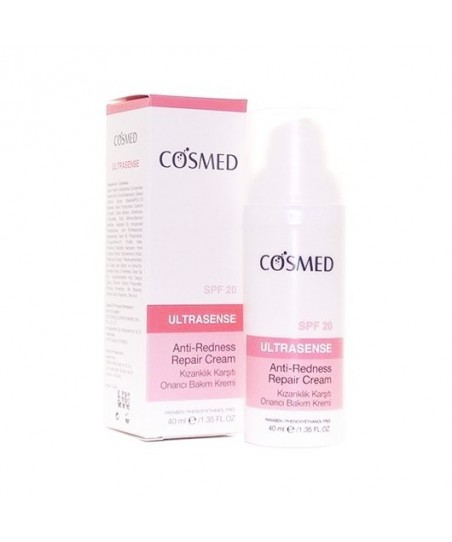 Cosmed Ultrasense Anti-Redness Repair Cream Spf20 40ml