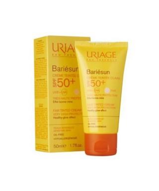 OUTLET - Uriage Bariesun Teintee Spf50 Creme 50ml - Güneş Koruyucu ( Fair - Açık Ten )
