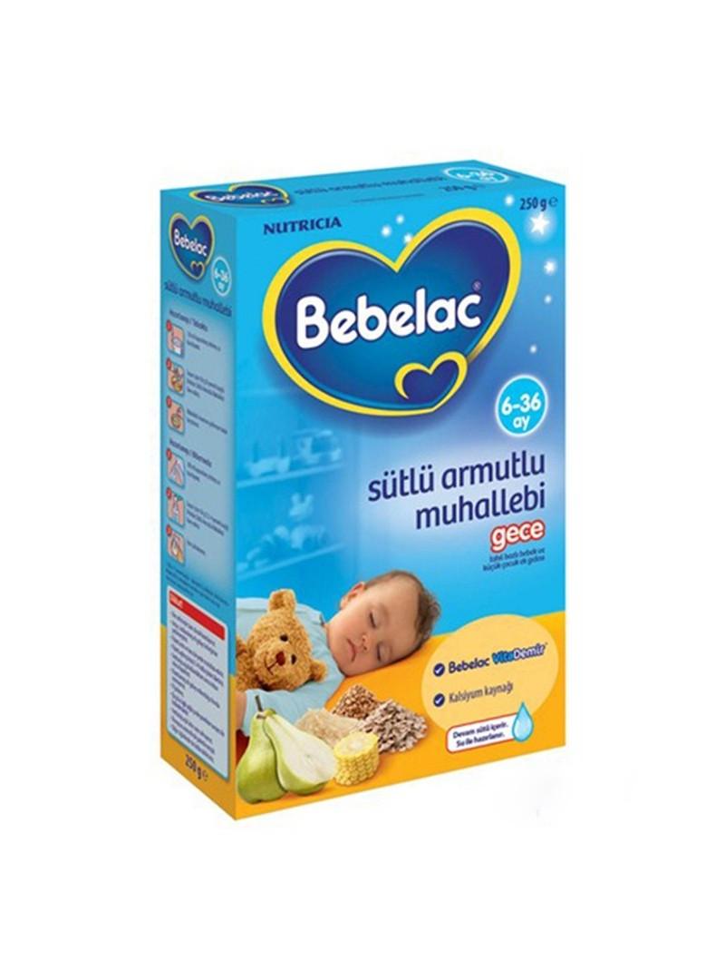 Bebelac Armutlu Muhallebi Gece Kaşık Maması 250 gr