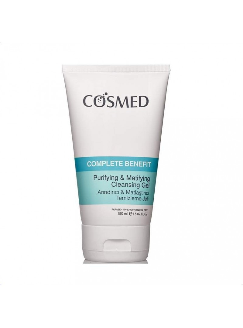 PROMOSYON - Cosmed Complete Benefit Arındırıcı ve Matlaştırıcı Temizleme Jeli 150 ml