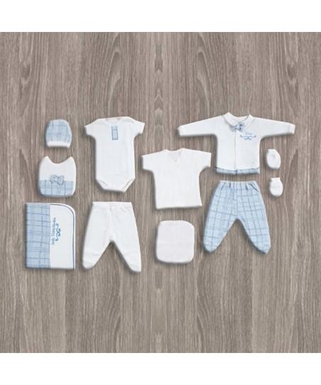 Flexi Baby Erkek 10'lu Hastane Çıkış Seti