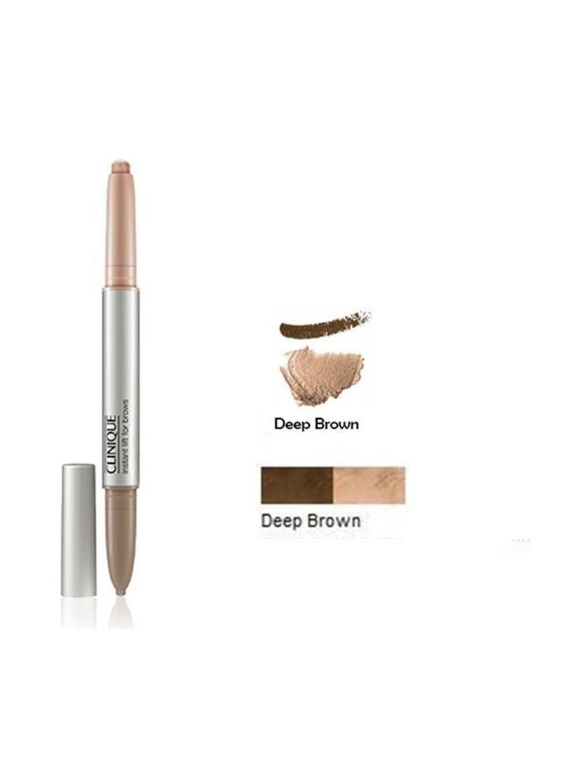 PROMOSYON - Clinique Instant Lift Kaş Kalemi 0.5gr - Deep Brown