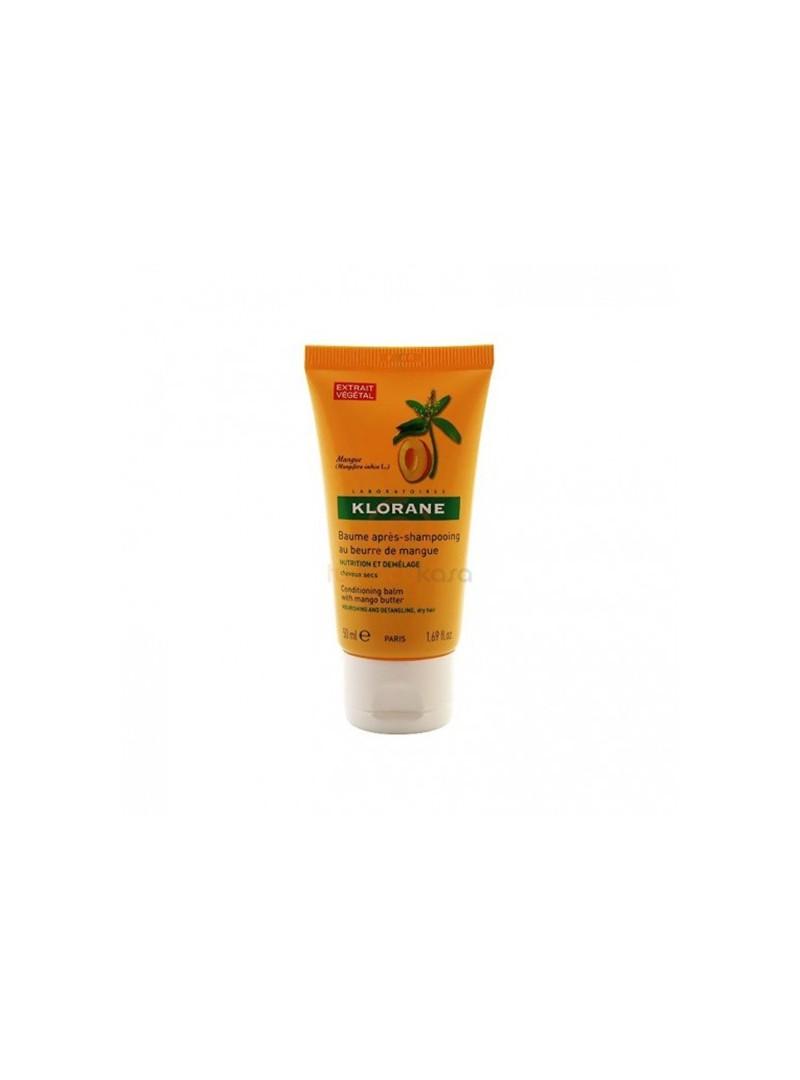 PROMOSYON - Klorane Mango Yağı İçeren Yıpranmış Saçlar İçin Bakım Kremi 50 ml